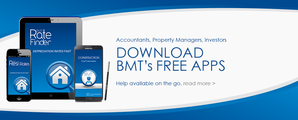 Download our free apps for iPad, iPhone and android, calculate, estimate and depreciate on the run today
